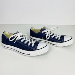 Converse All Star Blue Shoes Low Top Sneakers